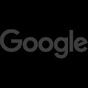 Google logo -grey